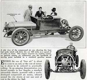 Who Invented The Automobile >> First Air Car Invented History Of Pneumatic Engines