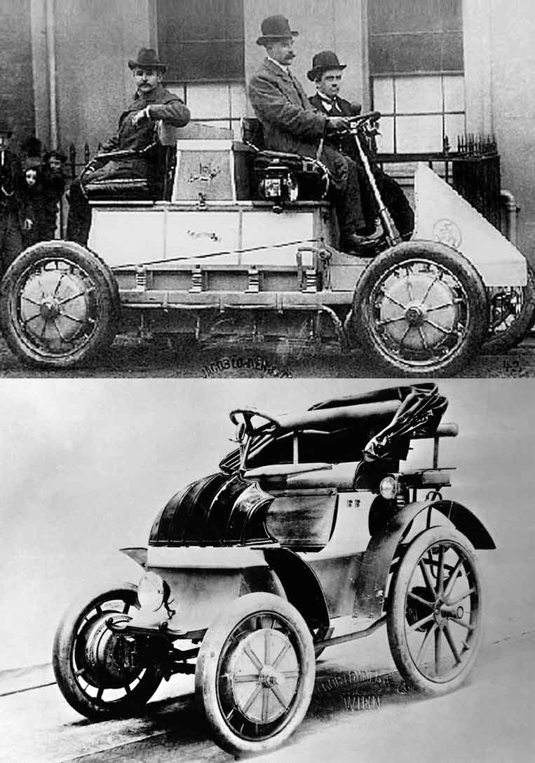 First Hybrid Car Ever Made, Invented and Sold In The World