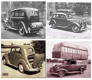 First Natural Gas Car
